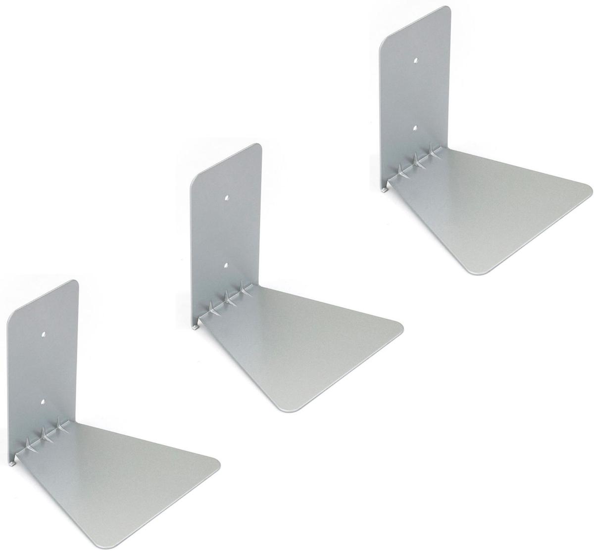 Набор полок Umbra Conceal, цвет: стальной, 3 шт цена