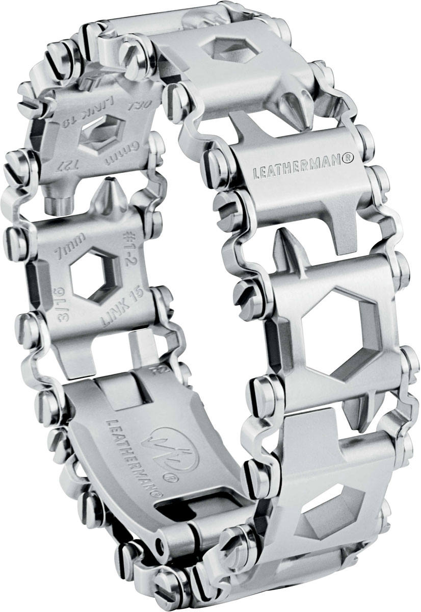 "Браслет Leatherman ""Tread LT"", цвет: металлик"
