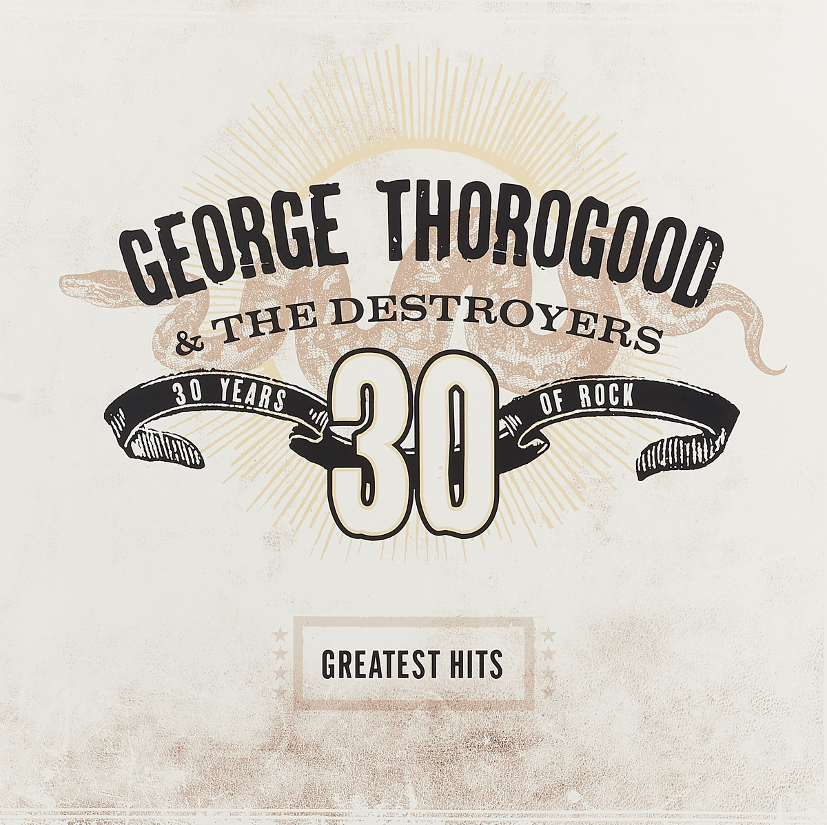 Джордж Торогуд George Thorogood. Greatest Hits: 30 Years Of Rock (2 LP) цена и фото