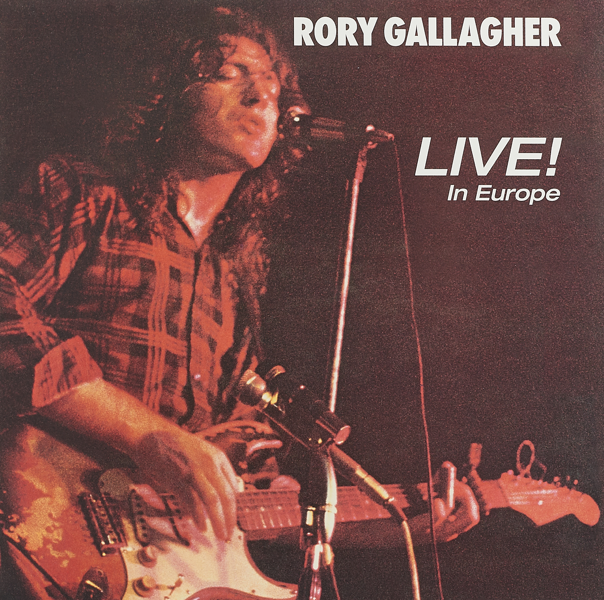 Рори Галлахер Rory Gallagher. Live! In Europe (LP)