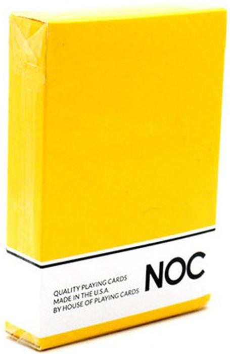 Карты игральные NOC. Оригинал, цвет: желтый kristi gold noc z szejkiem