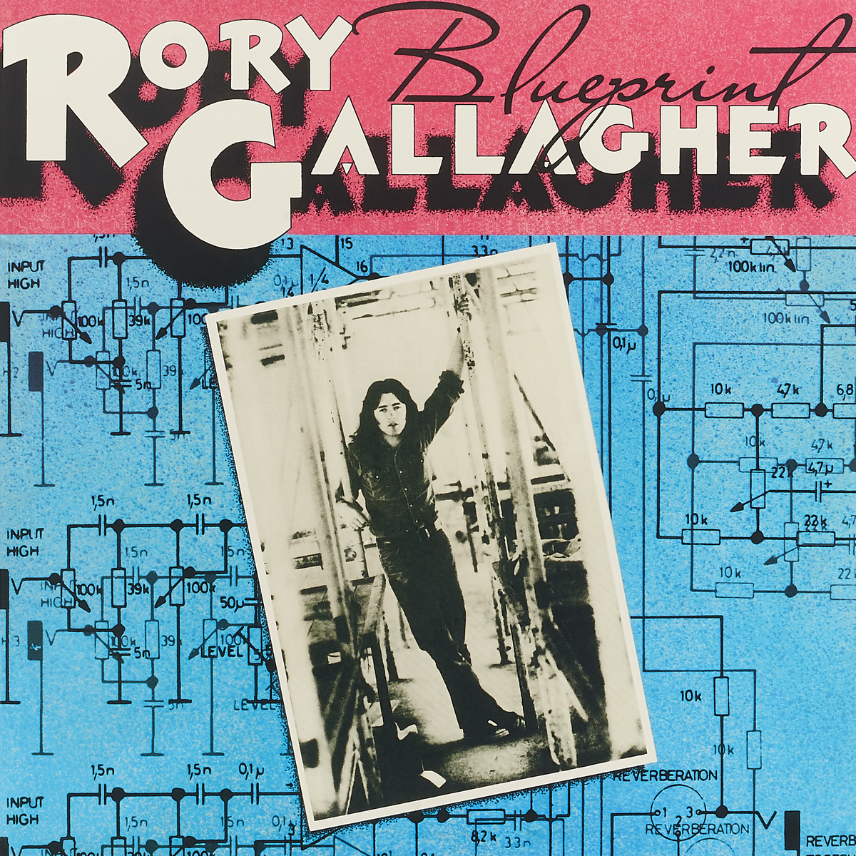 Рори Галлахер Rory Gallagher. Blueprint (LP) рори галлахер gallagher rory live in europe hq lp