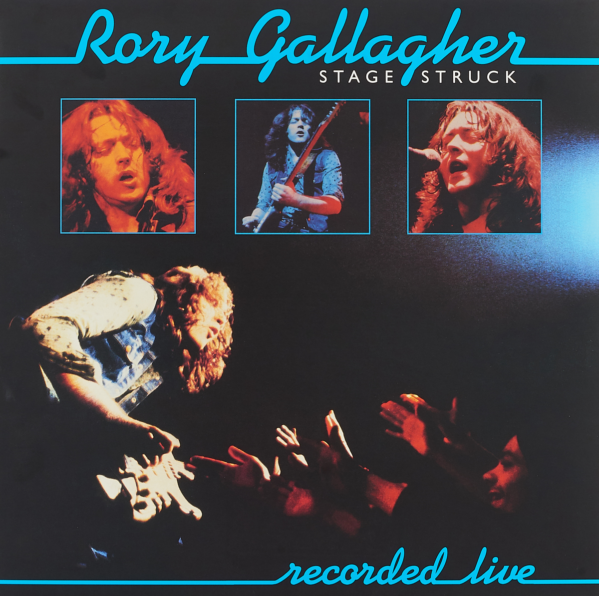 Рори Галлахер Rory Gallagher. Stage Struck (LP) рори галлахер gallagher rory live in europe hq lp