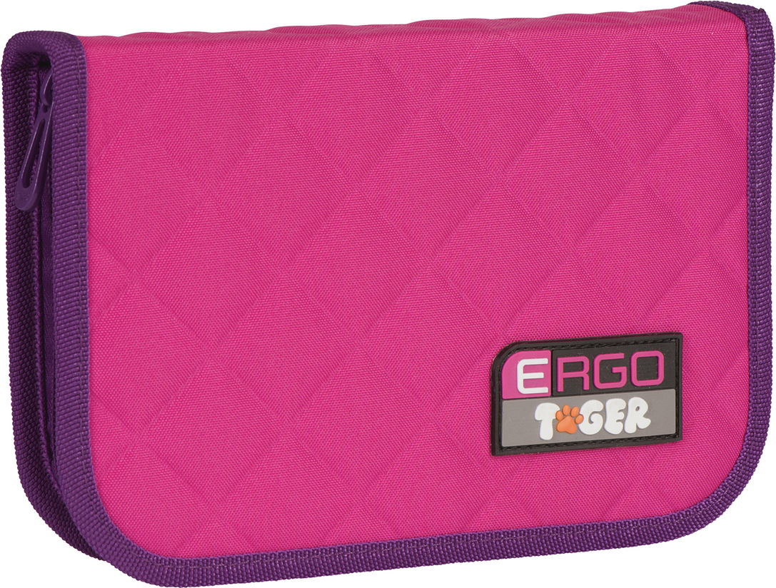Tiger Family Пенал с наполнением цвет розовый 226969
