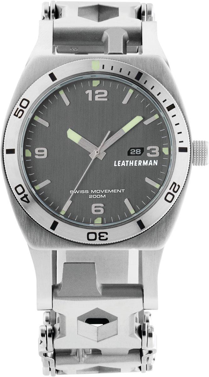 Часы-мультитул Leatherman Tread Tempo, цвет: металлик