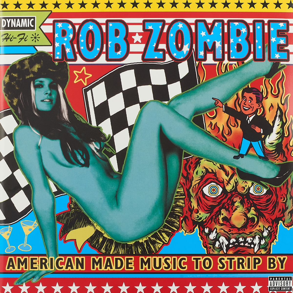 лучшая цена Роб Зомби Rob Zombie. American Made Music To Strip By (2 LP)
