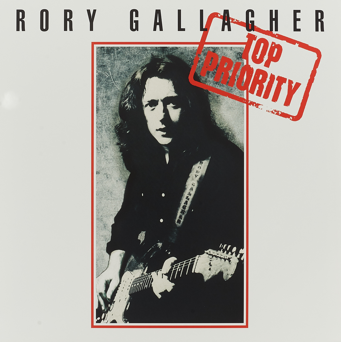Рори Галлахер Rory Gallagher. Top Priority (LP) рори галлахер gallagher rory live in europe hq lp