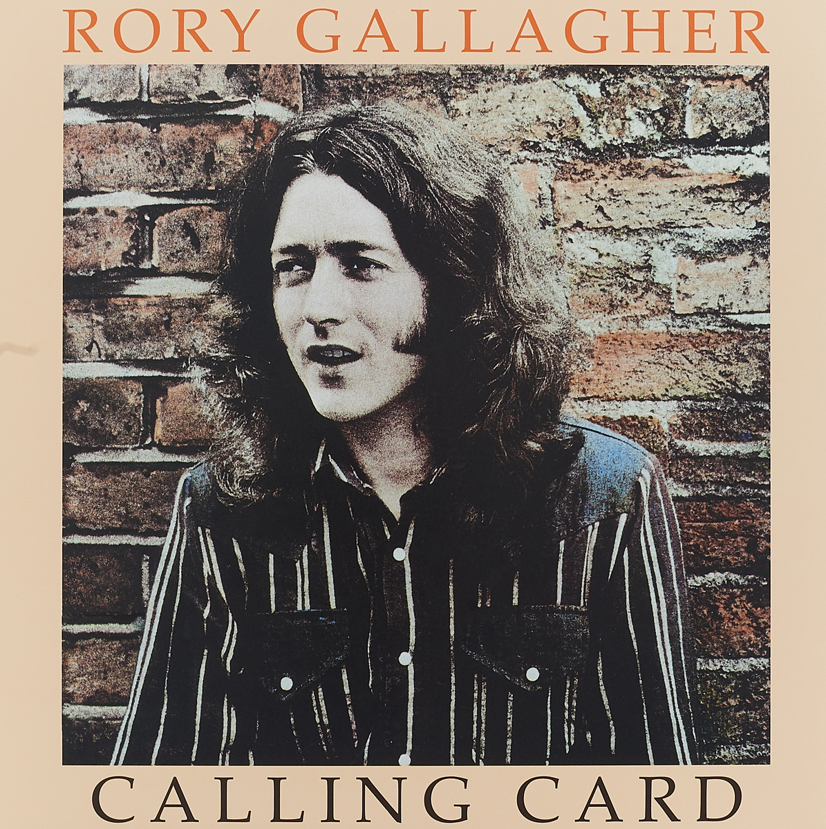 Рори Галлахер Rory Gallagher. Calling Card (LP) рори галлахер gallagher rory live in europe hq lp