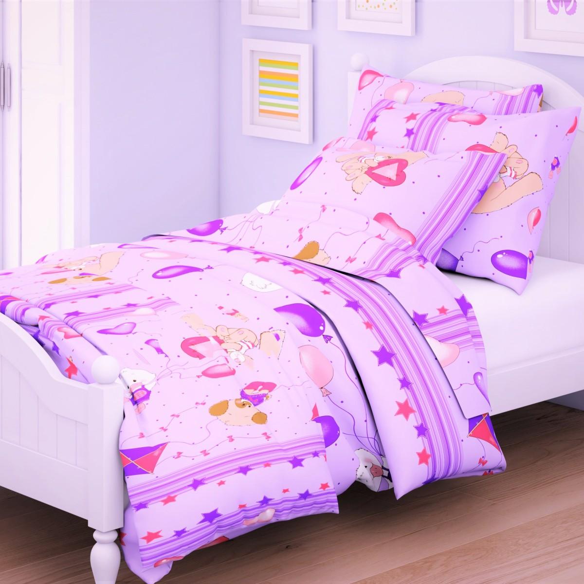 Letto Комплект в кроватку Ясли 3 предмета BG-62 постельное белье letto комплект в кроватку ясли bg 54 бязь