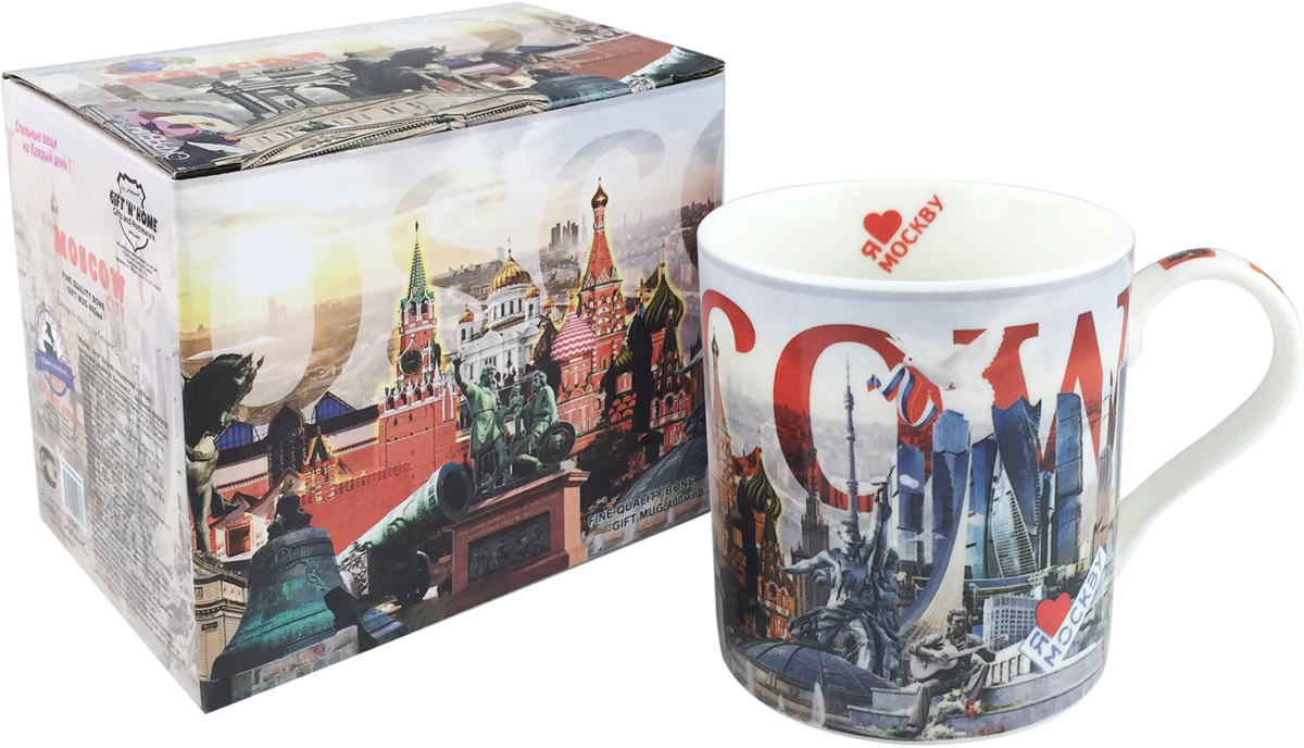 Серия города россии кружки