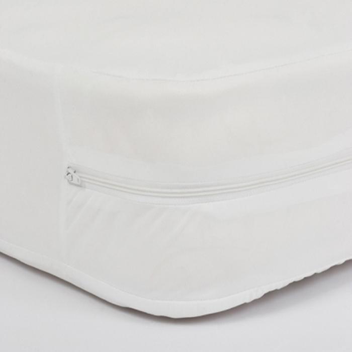 """Caretex Чехол водонепроницаемый на матрас """"Elastic"""", цвет: белый, 90 х 200 х 20 см"""