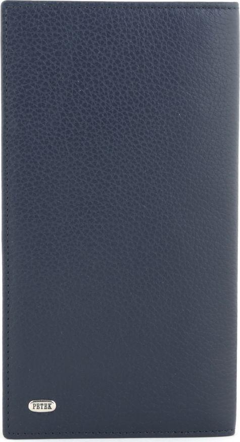 цена Визитница мужская Petek 1855, цвет: синий. 244.232.88 онлайн в 2017 году