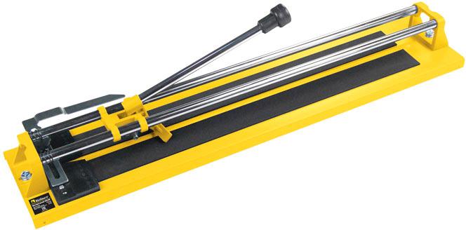 Плиткорез ручной Kolner KTC 600, роликового типа, 805 x 175 x 115 мм плиткорез ручной dexter 600 мм толщина реза 12 мм