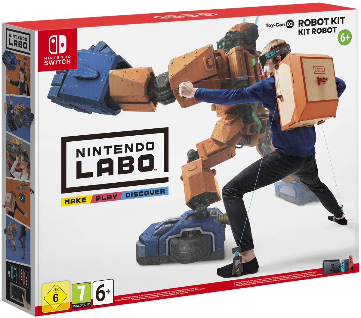 Nintendo Labo: набор Робот new nintendo 2ds xl animal crossing edition gray портативная игровая приставка