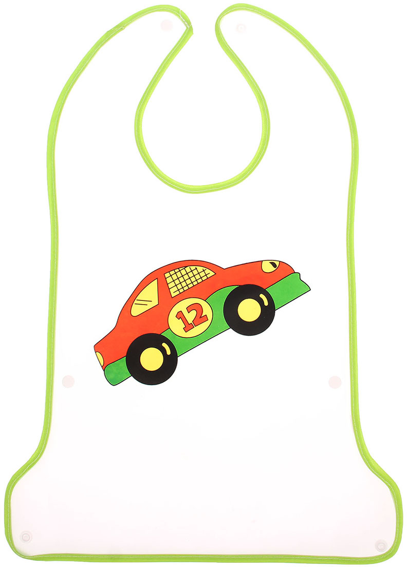 Крошка Я Нагрудник с карманом на кнопке цвет зеленый крошка я нагрудник игрушки для малышек