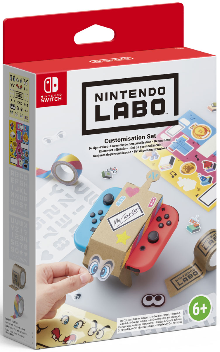 "Nintendo Labo: комплект ""Дизайн"""