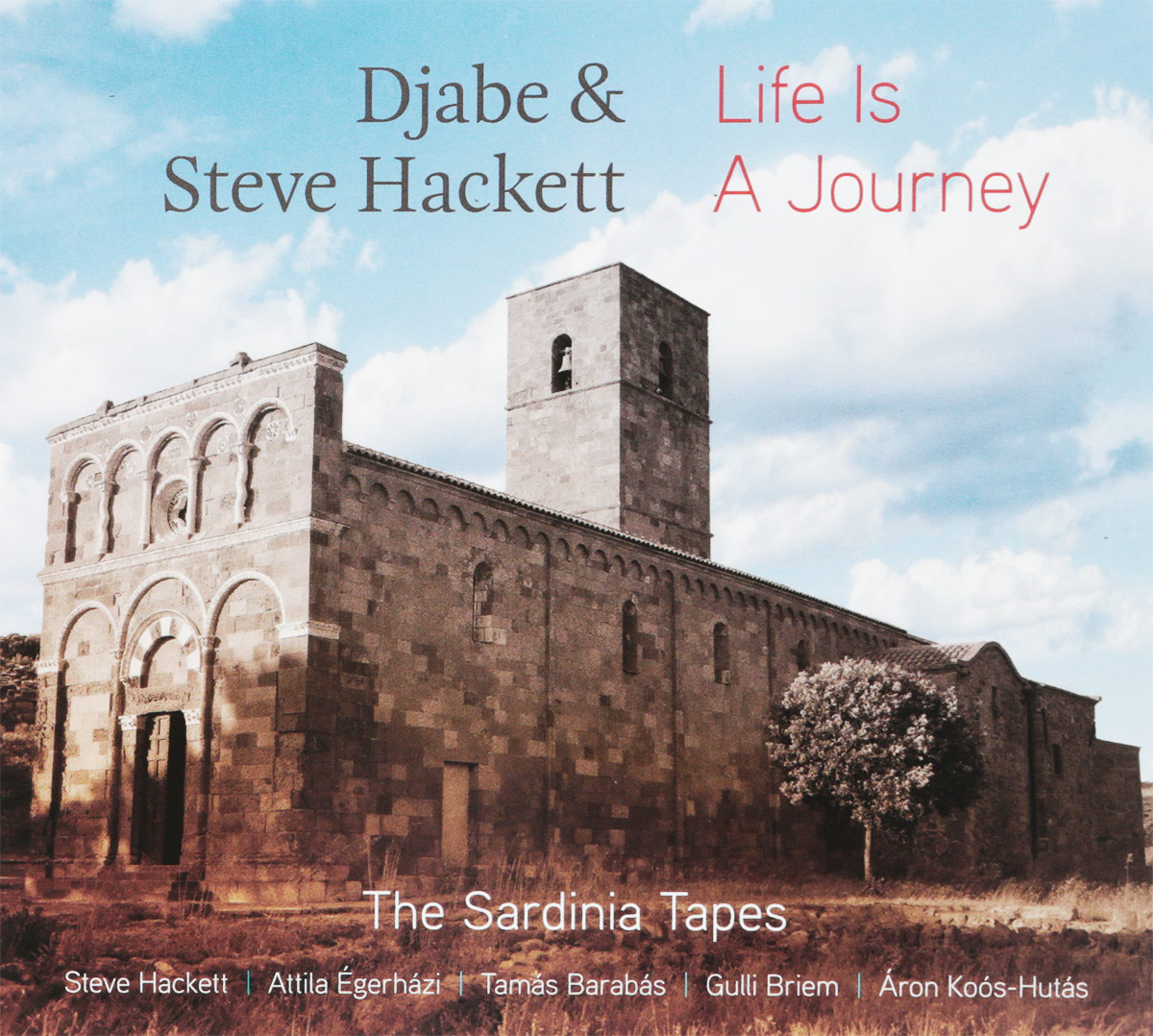 Djabe & Steve Hackett. Live Is A Journey - The Sardinia Tapes (CD + DVD) steve hackett steve hackett wolflight 2 lp cd