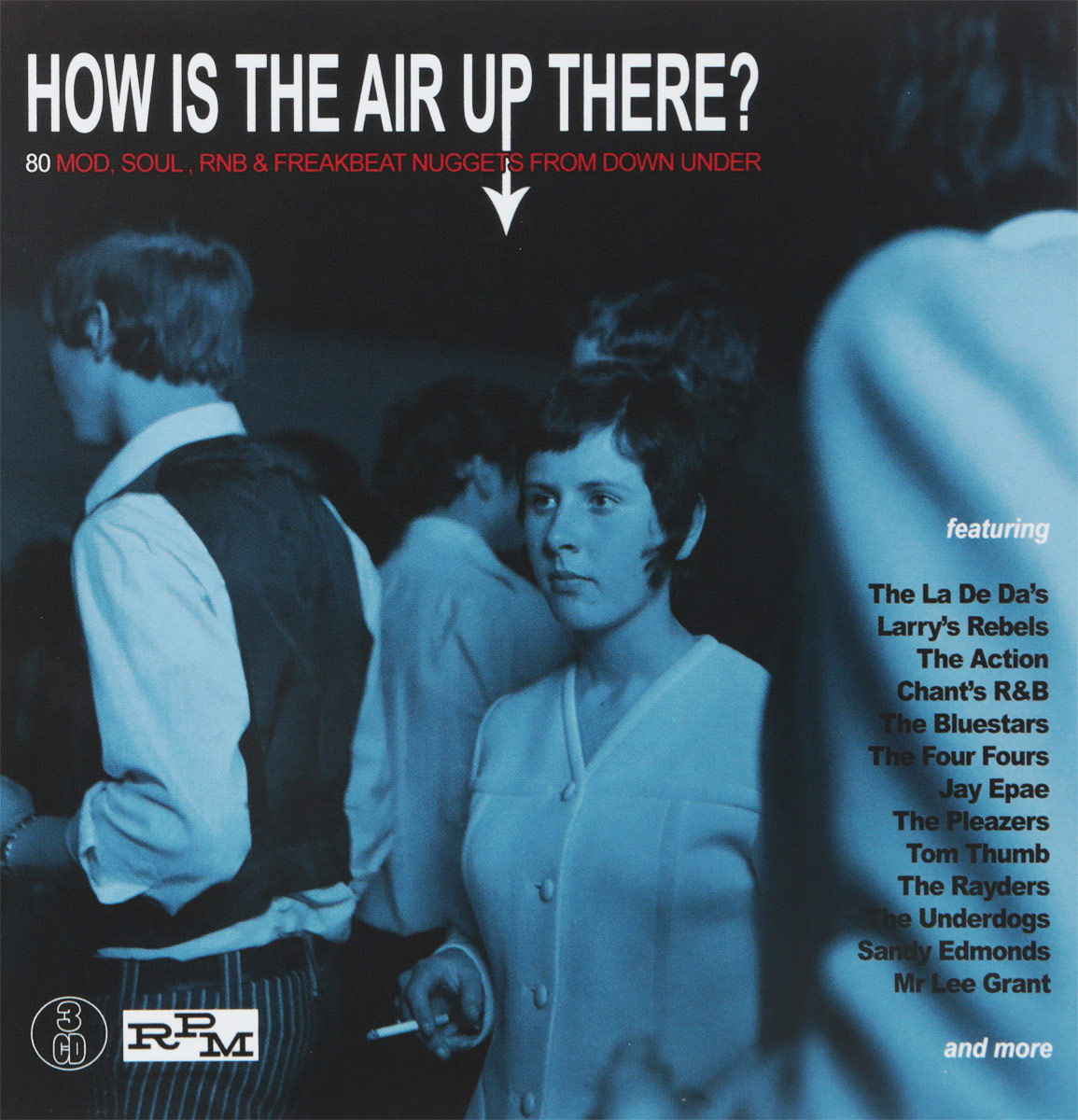 How Is The Air Up There? 80 Mod, Soul And Freakbeat Nuggets From Down Under (3 CD)
