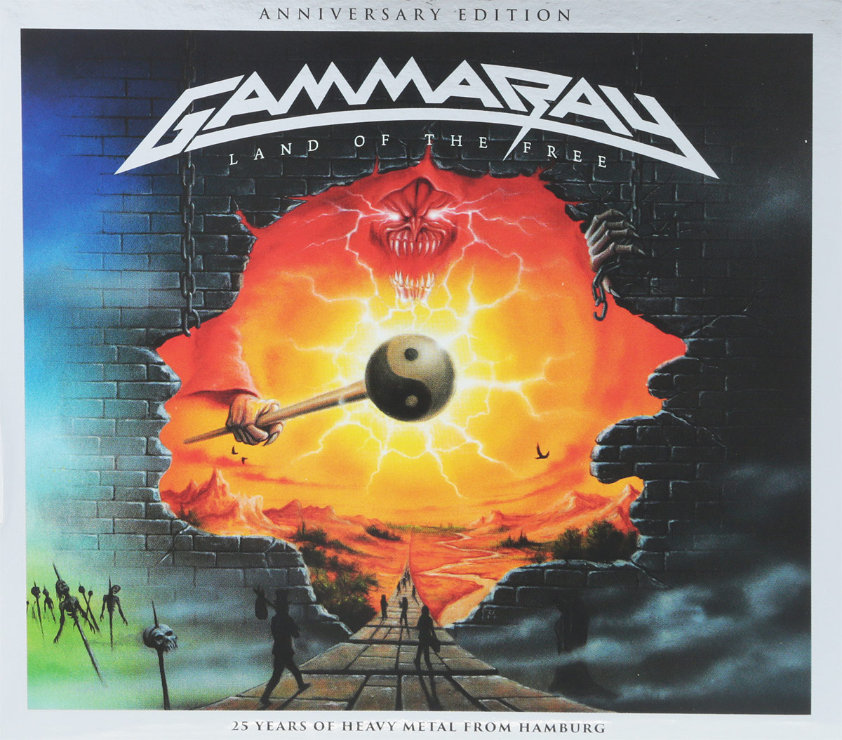 Gamma Ray Gamma Ray. Land of the Free (2017 reissue) (2 CD) gamma ray gamma ray the best of 4 lp