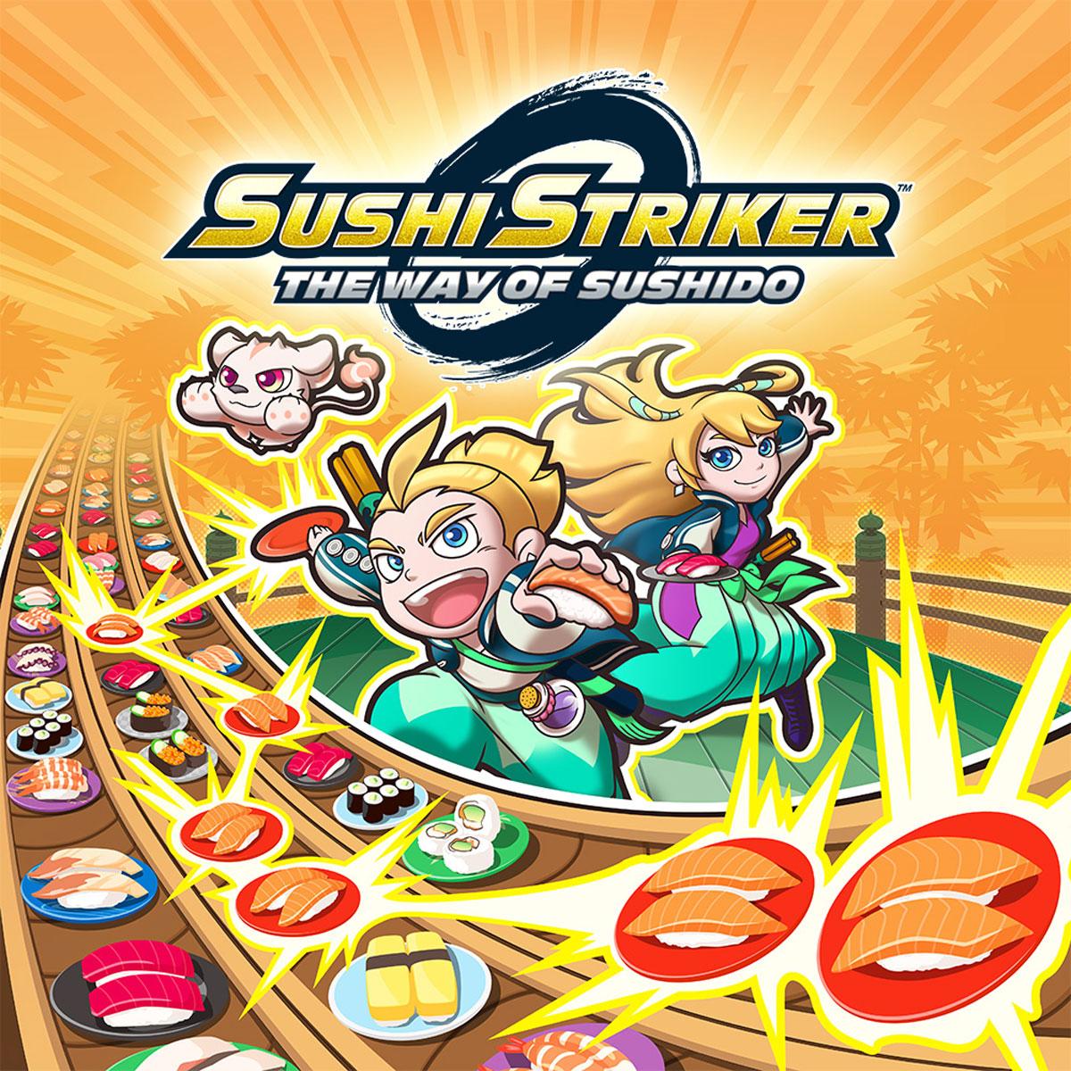 Sushi Striker: The Way of Sushido (3DS) суши ресторан sushi kit