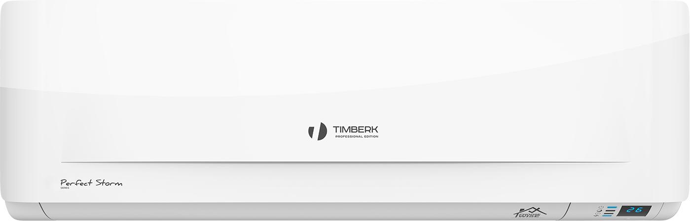 Timberk Perfect StormAC TIM 09H S21 внутренний блок комплекта сплит-системыAC TIM 09H S21Класс «А» энергоэффективности Полноценный осушитель и обогреватель воздуха для межсезонного использования Режим вентиляции без понижения температуры в помещении Автоматический режим работы Ночной режим работы Таймер на включение и отключение 24 часа Авторестарт при возобновлении электропитания Экологичный хладагент R410A Низкий уровень шума Встроенный генератор плазмы Фильтр с ионами серебра Антикоррозийное золоченое влагостойкое покрытие теплообменника Golden FIN