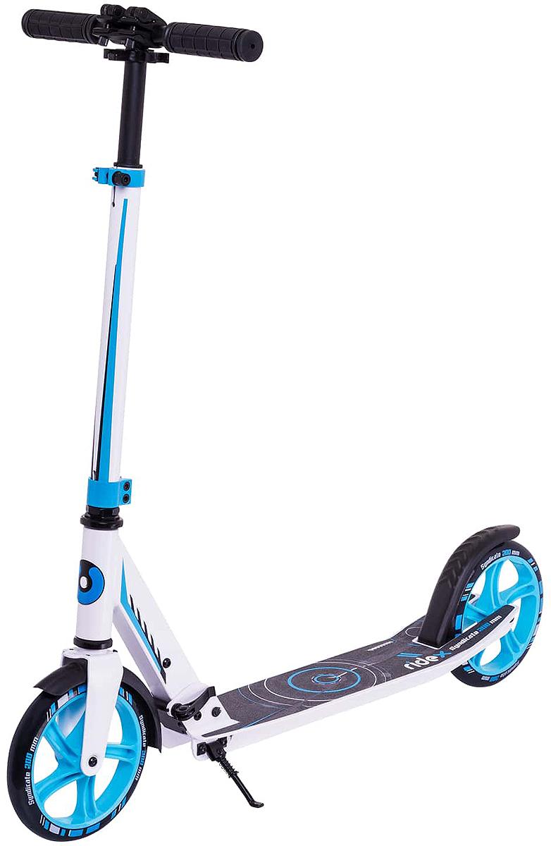Самокат Ridex Syndicate, 2-колесный, цвет: синий самокат ridex syndicate 2 колесный цвет красный