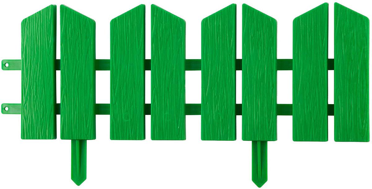 Бордюр декоративный Grinda Летний сад, цвет: зеленый, 16 х 300 см бордюр декоративный летний сад grinda 422225 y