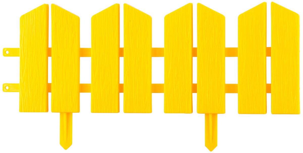 Бордюр декоративный Grinda Летний сад, цвет: желтый, 16 х 300 см бордюр декоративный летний сад grinda 422225 y