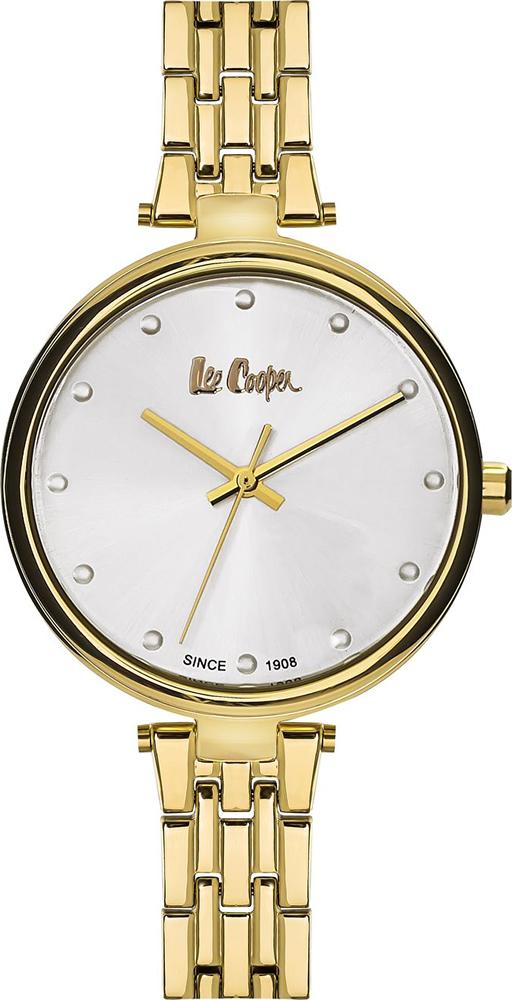 лучшая цена Часы наручные женские Lee Cooper, цвет: желтый. LC06329.130