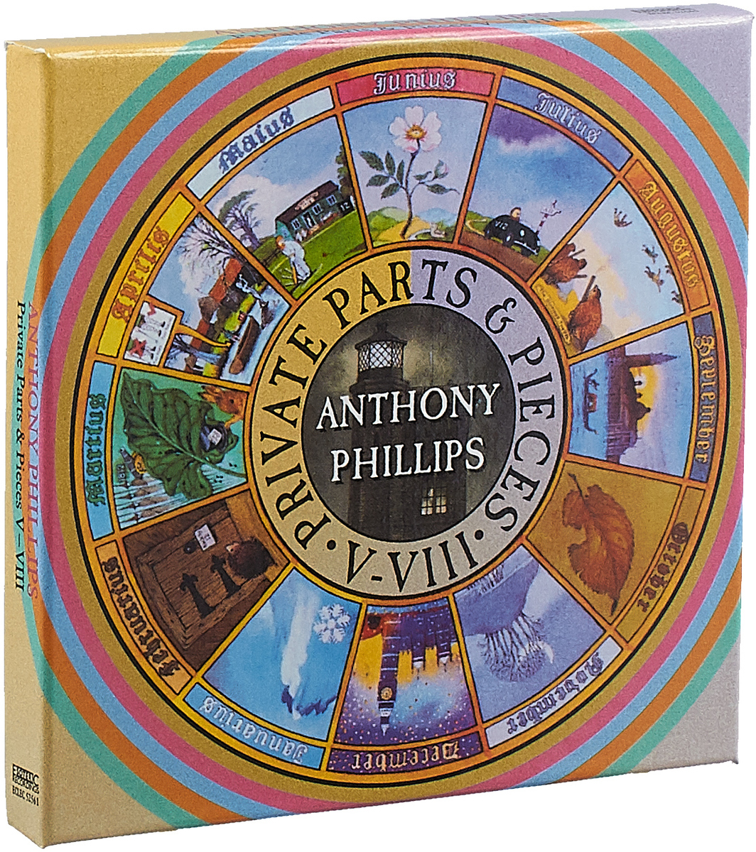 цена на Anthony Phillips Anthony Phillips. Private Parts & Pieces V-VIII (5 CD)