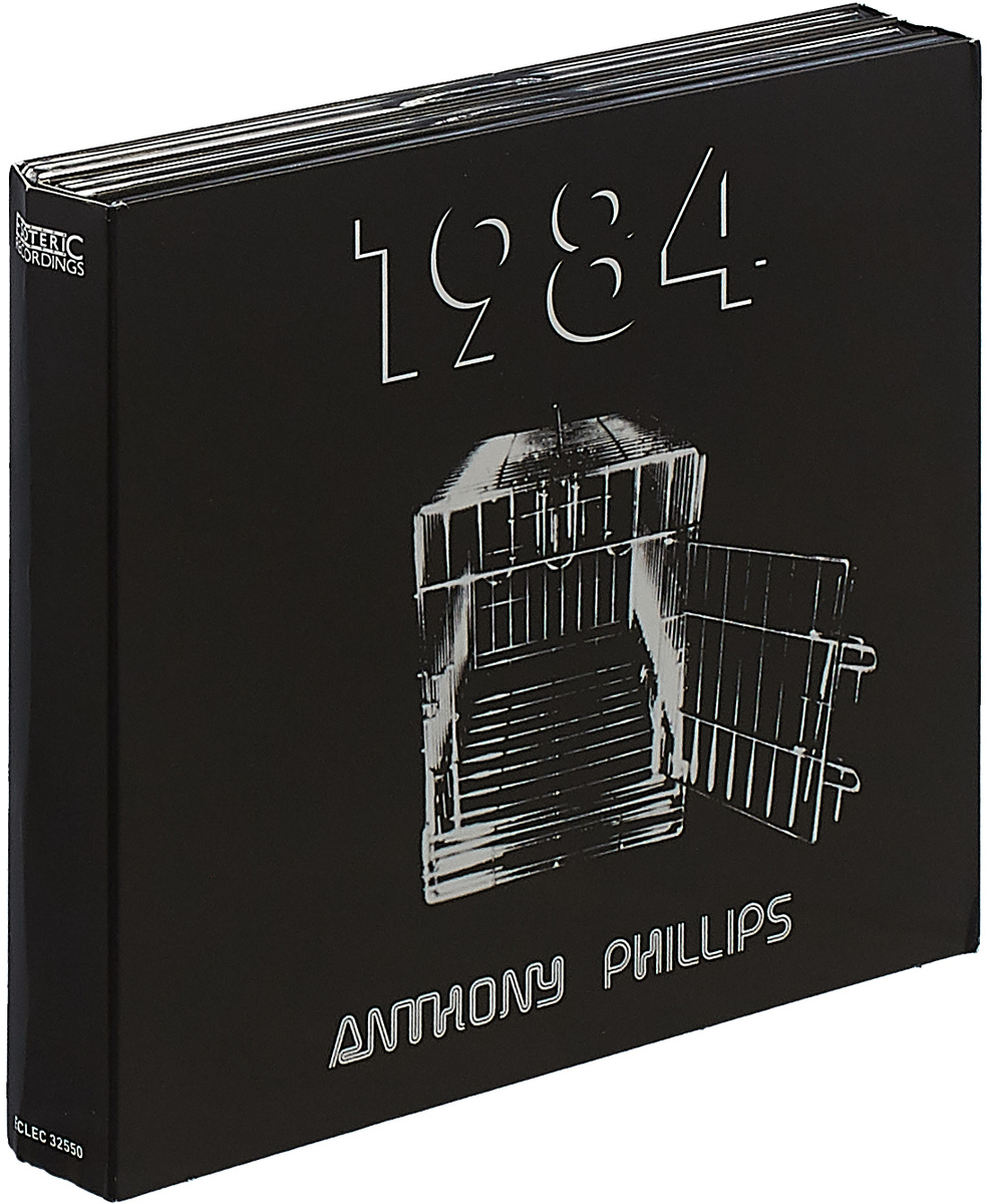 Anthony Phillips Anthony Phillips. 1984: Remastered & Expanded Deluxe Edition (2 CD + DVD) cd led zeppelin ii deluxe edition