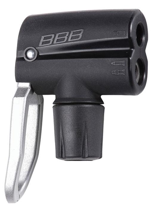 Голова для насоса BBB DualHead 2.0, цвет: черный голова для насоса bbb dualhead 2 0 цвет черный