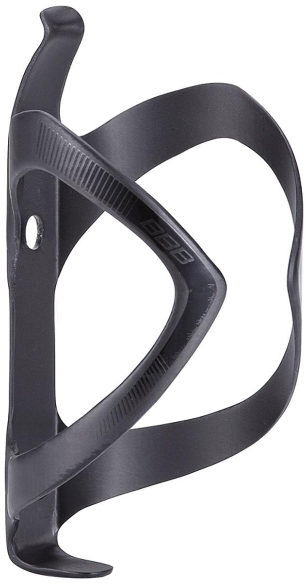 Флягодержатель BBB FiberCage UD Carbon, цвет: матовый черный, черный флягодержатель zefal pulse fiber glass цвет черный