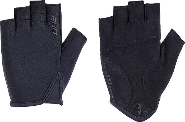Перчатки велосипедные BBB 2018 Racer, цвет: черный. Размер M