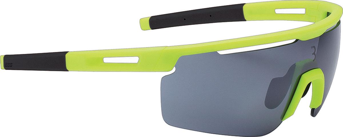 Фото - Очки солнцезащитные велосипедные BBB 2018 Avenger PC Smoke Flash Mirror Lenses, цвет: желтый, серый линзы