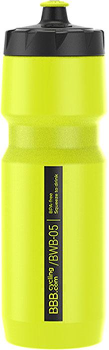Фляга велосипедная BBB CompTank, цвет: желтый, 750 мл фляга сплав hr c 750 мл