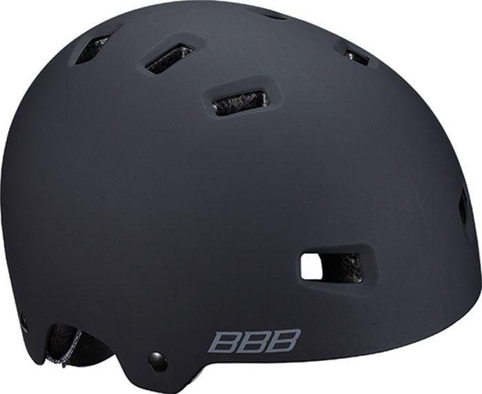 цена на Велошлем BBB 2018 Billy, цвет: черный матовый. Размер M