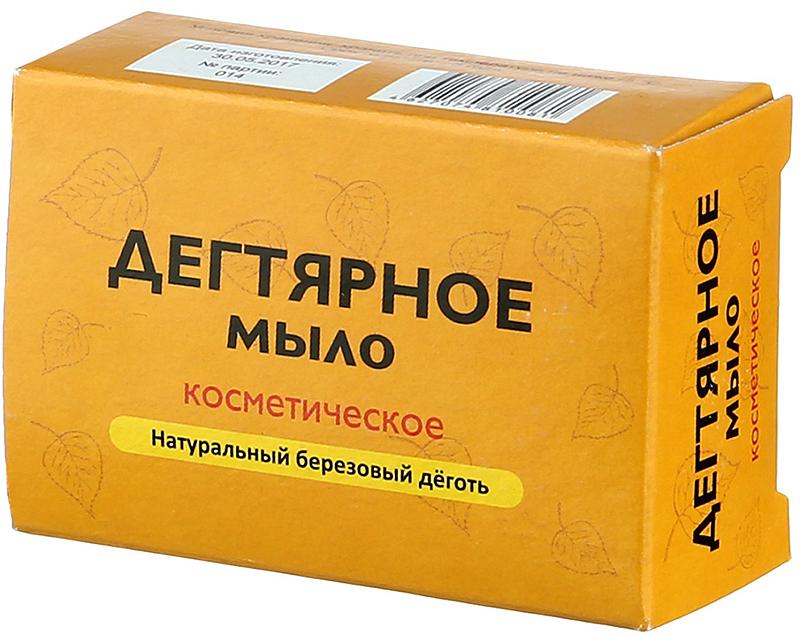 Аклен Дегтярное мыло кусковое натуральное косметическое, 75 г мыловаров натуральное мыло огуречное 2штx80 г