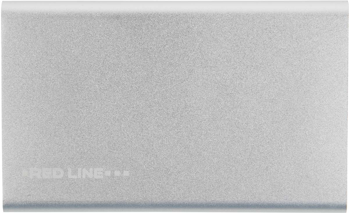 Red Line J01, Silver внешний аккумулятор (4 000 mAh) insulated ring copper terminal connectors red silver 4 3mm 100pcs