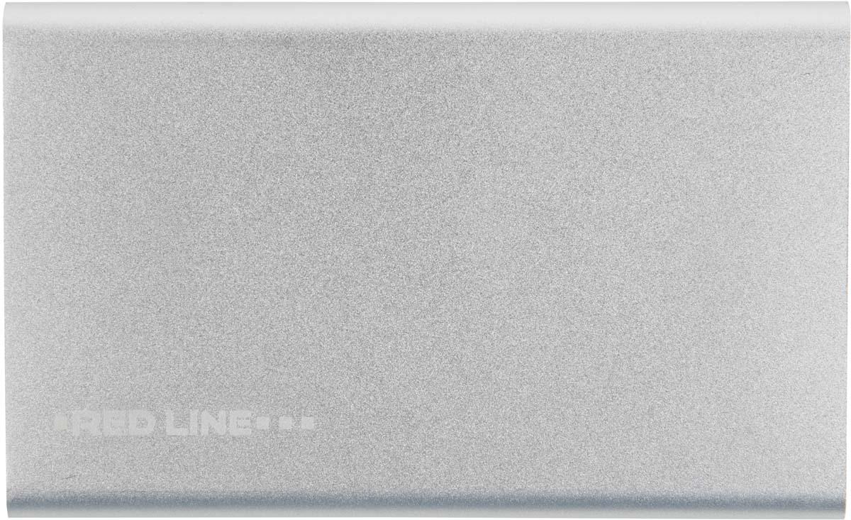 Red Line J01, Silver внешний аккумулятор (4 000 mAh) аккумулятор внешний red line j01 star wars 32