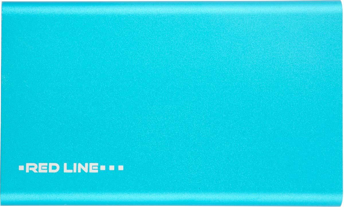 Red Line J01, Blue внешний аккумулятор (4 000 mAh) аккумулятор red line t8 8000mah blue