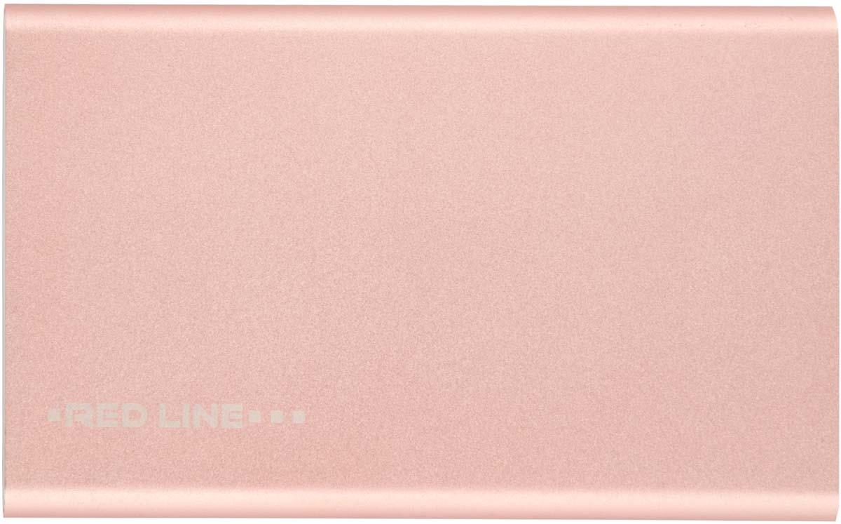 Red Line J01, Pink Gold внешний аккумулятор (4 000 mAh)