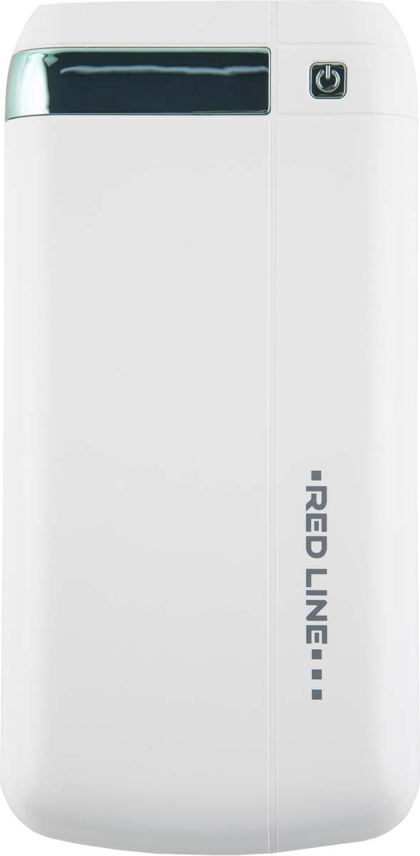 Red Line Q8, White внешний аккумулятор (20 000 mAh) аккумулятор red line bus 10000mah white