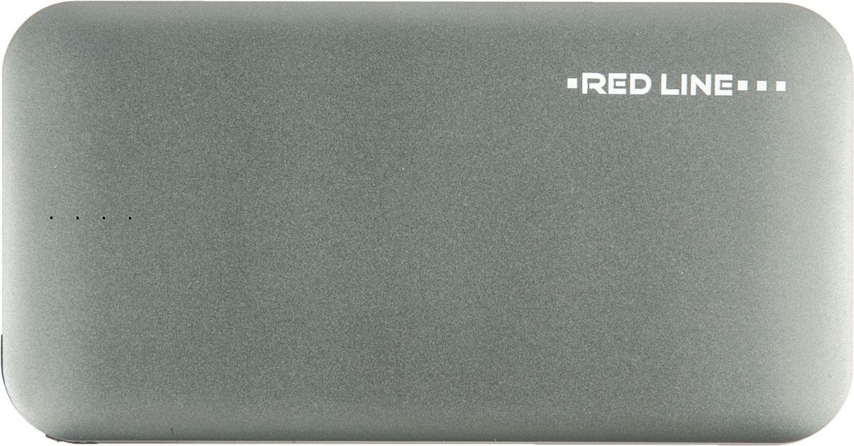 Red Line B8000, Grey внешний аккумулятор (8 000 mAh) аккумулятор внешний red line j01 star wars 32