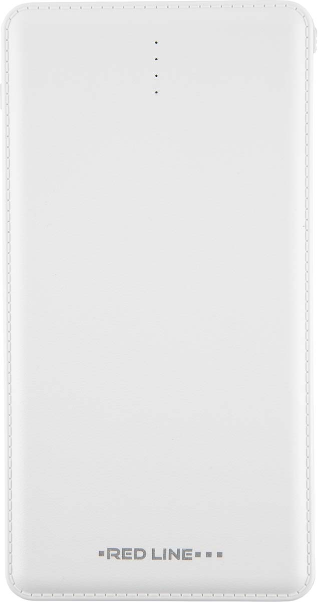 Red Line UK-143, White внешний аккумулятор (10 000 mAh) цена и фото