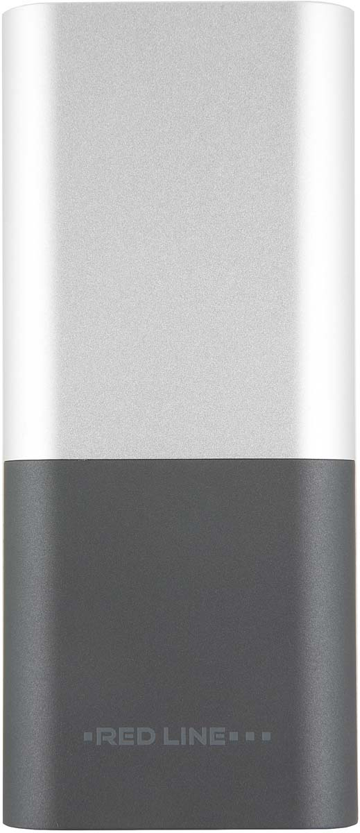 Red Line T7, Silver внешний аккумулятор (9 000 mAh) аккумулятор red line j01 power bank 4000mah silver ут000009486