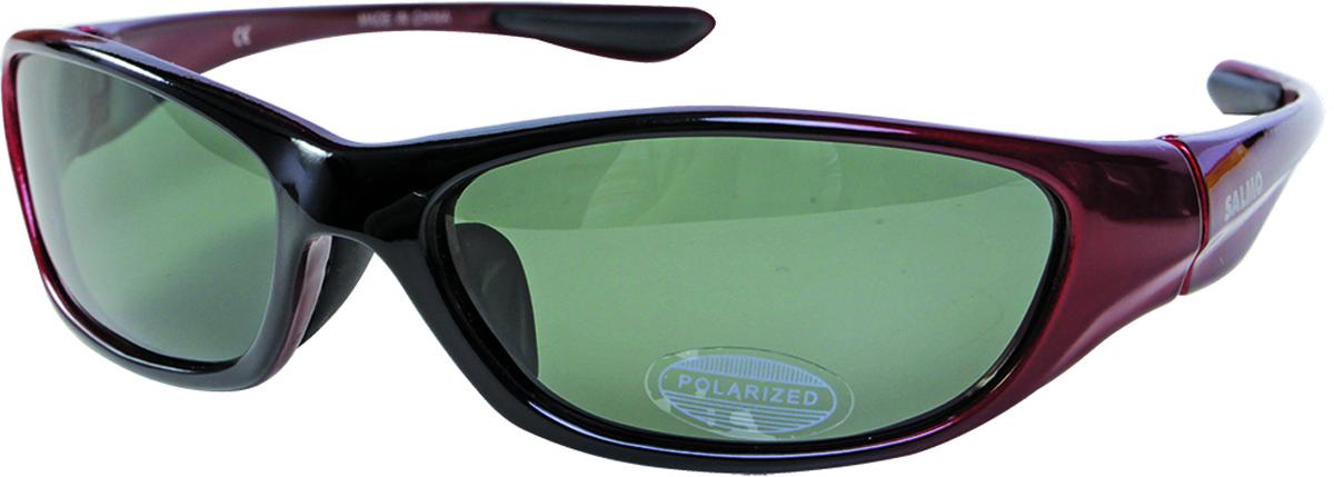 Очки поляризационные Salmo, цвет: коричневый, красный. S-2511 очки salmo s 2511