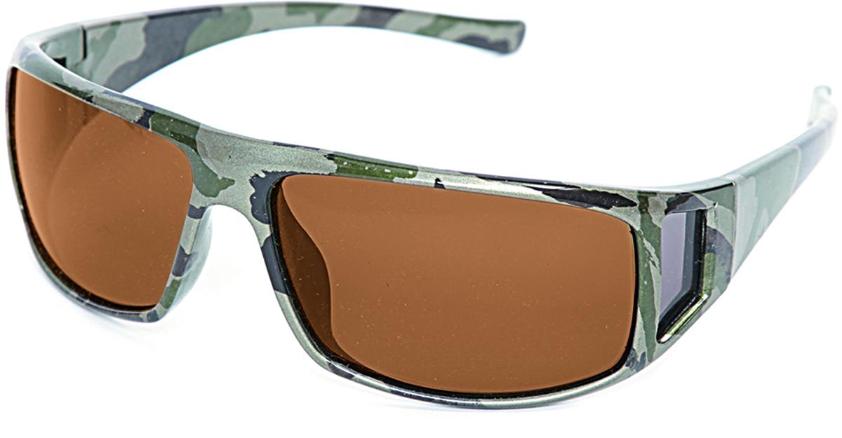 Очки поляризационные Salmo, цвет: зеленый. S-2521 цена