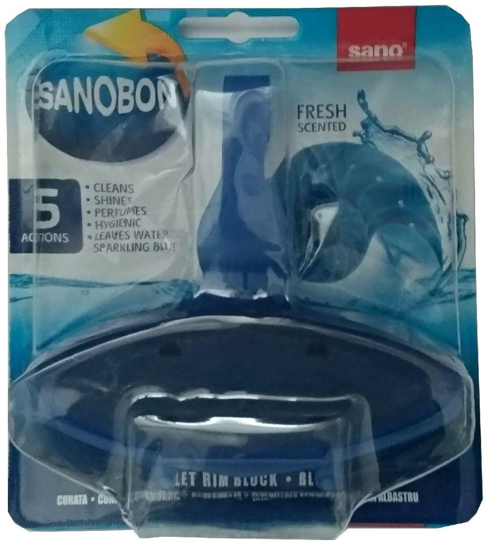 Подвеска для унитаза Sano Sanobon Blue, 55 г подвеска для унитаза sano sanobon blue 55 г