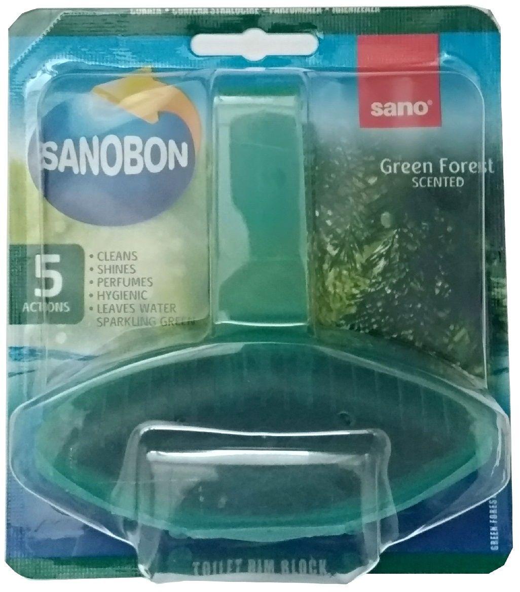 Подвеска для унитаза Sano Sanobon Blue. Green Forest, 55 г подвеска для унитаза sano sanobon blue 55 г